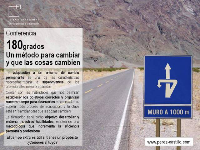 180grados: Un método para cambiar y que las cosas cambien por Santiago Perez-Castillo