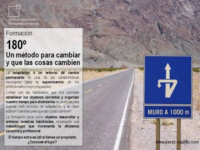 180 grados un metodo para cambiar y que las cosas cambien por Santiago Perez-Castillo